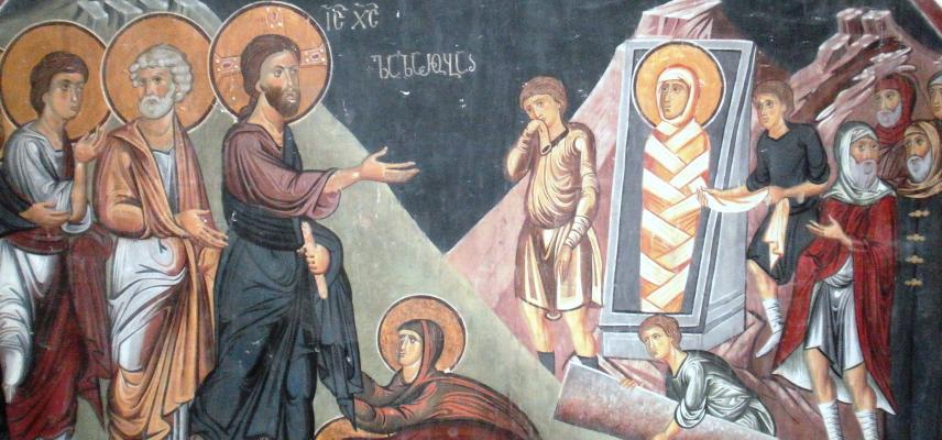 mestia museum fresco