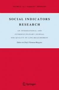 social indicators research image
